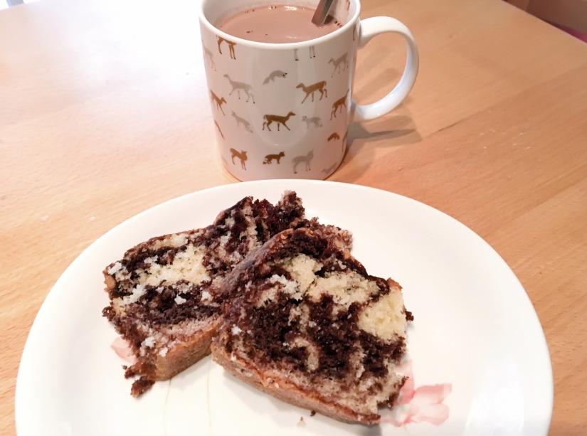 gateau-marbré-chocolat-chaud